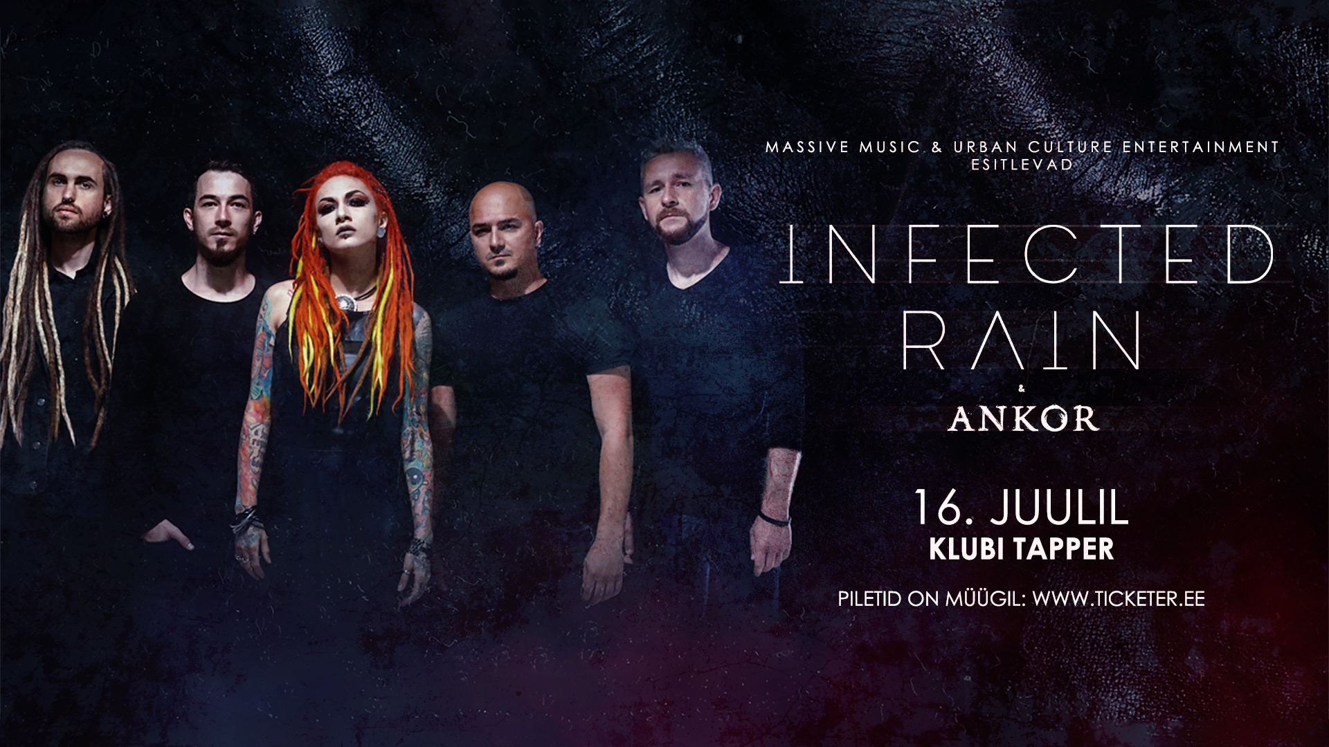 Infected Rain [MD] + support